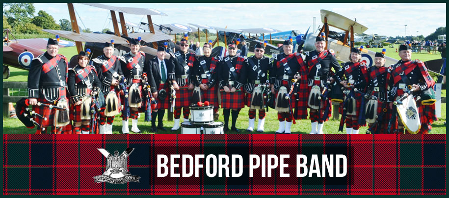 Welcome to Bedford Pipe Band